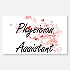 Physician Assistant Artistic Job Design wi Decal