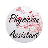 Physician assistant Round Ornaments