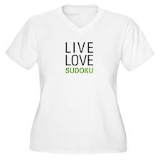 Live Love Sudoku T-Shirt