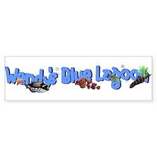 Wendy's Blue Lagoon Car Bumper Bumper Sticker