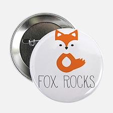 """Unique Fox 2.25"""" Button (10 pack)"""