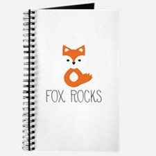 Cool Cute fox Journal
