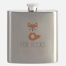 Funny Cute fox Flask