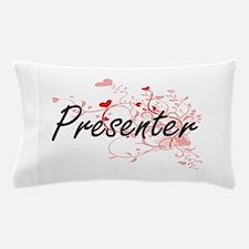Presenter Artistic Job Design with Hea Pillow Case