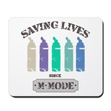 Saving Lives MMode Pastels Mousepad