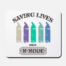 Saving Lives MMode Pastels Mousepad