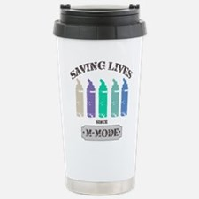 Saving Lives MMode Past Thermos Mug