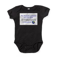 Unique World greatest mom Baby Bodysuit
