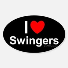 Funny Swingers Decal
