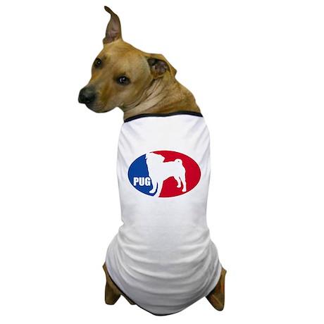 PUG Oval Dog T-Shirt