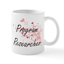 Program Researcher Artistic Job Design with H Mugs