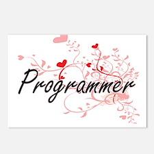 Programmer Artistic Job D Postcards (Package of 8)