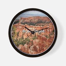 Bryce Canyon, Utah 20 (caption) Wall Clock