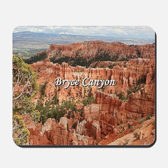 Bryce Canyon, Utah 20 (caption) Mousepad