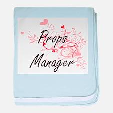 Props Manager Artistic Job Design wit baby blanket