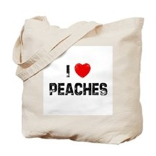 I * Peaches Tote Bag