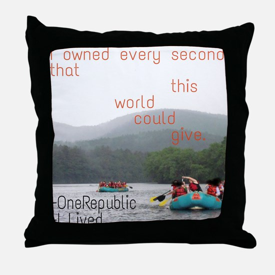 Cute Lilly Throw Pillow