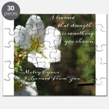 Cute Miley Puzzle