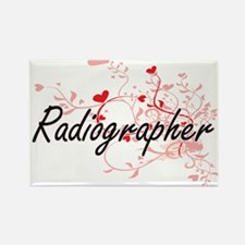 Radiographer Artistic Job Design with Hear Magnets