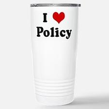 Cute Policy Travel Mug