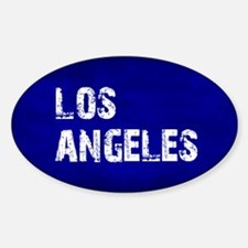 Los Angeles Top Bottom Three Decal