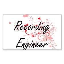 Recording Engineer Artistic Job Design wit Decal