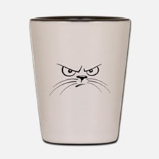 Cool Grumpy cat Shot Glass