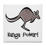 Kanga Power! Tile Coaster