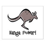 Kanga Power! Small Poster