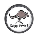 Kanga Power! Wall Clock