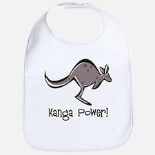Kanga Power! Bib