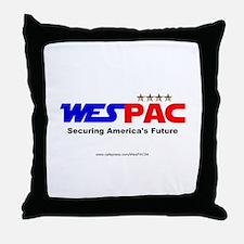 """WesPAC"" NEW Throw Pillow"