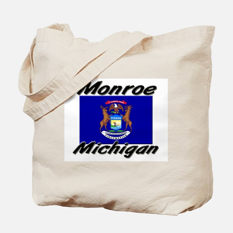 Monroe Michigan Tote Bag