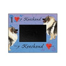 Keeshond Picture Frame