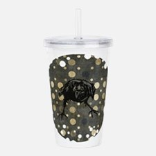Spotted Raven Acrylic Double-wall Tumbler
