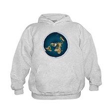 Flat Earth 1 Hoodie