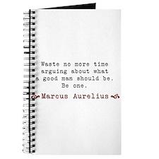 M. Aurelius Good Man Quote Journal
