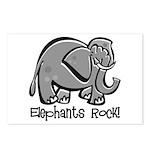 Elephants Rock! Postcards (Package of 8)