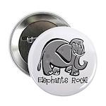 Elephants Rock! Button