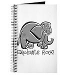 Elephants Rock! Journal