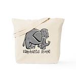 Elephants Rock! Tote Bag