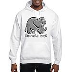 Elephants Rock! Hooded Sweatshirt