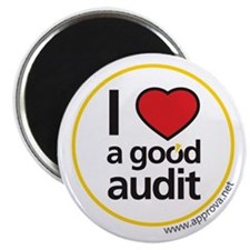 "I Love a Good Audit 2.25"" Magnet (10 pack)"