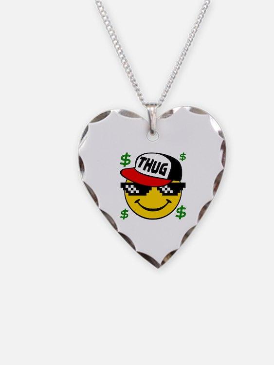 Cute Smiley face emoticon Necklace