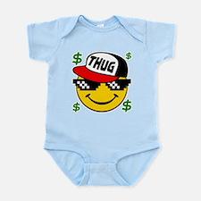 Smiley Thug Smilie Thug Emoticon Body Suit