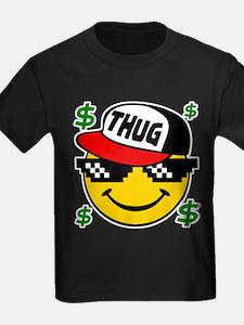 Smiley Thug Smilie Thug Emoticon T-Shirt