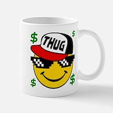 Smiley Thug Smilie Thug Emoticon Mugs