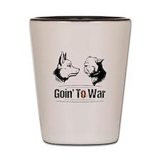 Face Off - Goin' To War Shot Glass