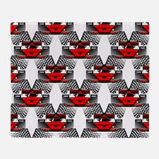 RED RACECAR Throw Blanket
