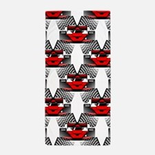 RED RACECAR Beach Towel